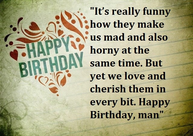 Happy Birthday Wishes For Man