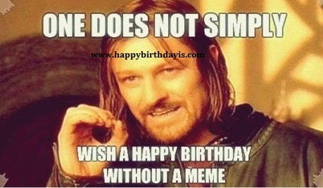 Happy Birthday Friend Meme